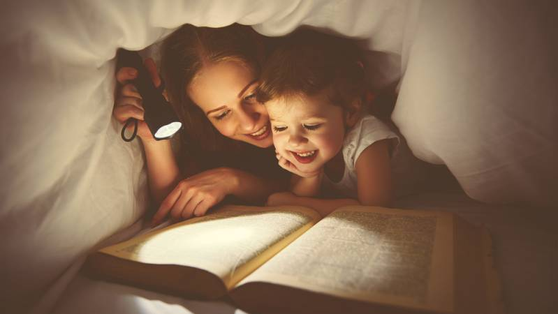 The importance of bedtime stories.