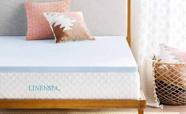 LINENSPA-Gel-Infused-mattress-topper
